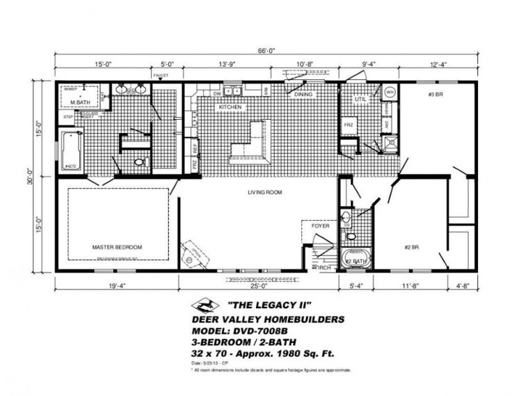 Deer Valley Modular Homes Floor Plans Design Manufactured
